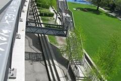 Park an der Dreirosenbrücke