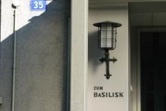 (Wettstein-)Basilisk, Schützenmattstrasse 35