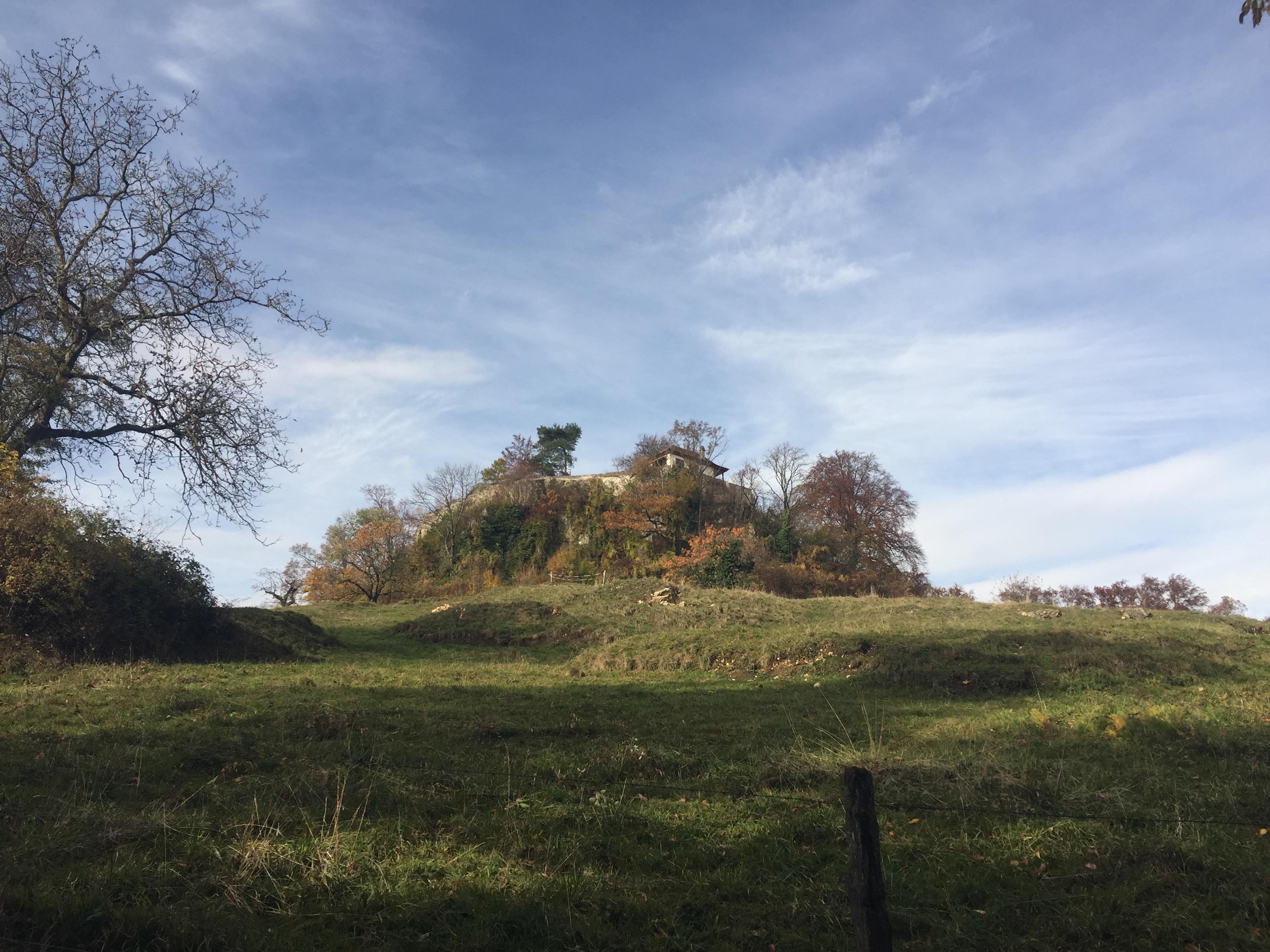 Burgruine Neu Schauenburg, Frenkendorf BL, CH.